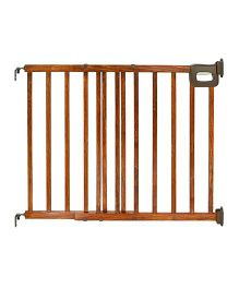 Summer Infant Deluxe Stairway Wooden Gate - Brown