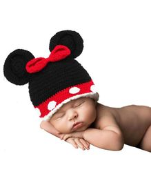 Babymoon Micky Mouse Designer Cap - Black Red