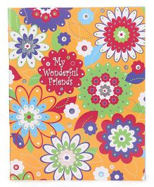 Archies Slam Book Floral Print - English