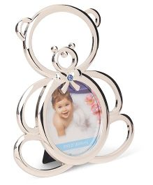 Archies Bear Shape Photo Frame - Silver