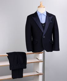 Babyoye 4 Piece Party Wear Suit - Navy Blue