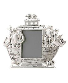 Crown Forever Frazer And Haws Noah's Ark Shape Photo Frame - Silver