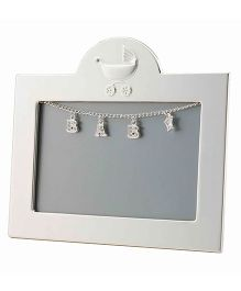 Crown Forever Frazer And Haws Rectangle Shape Photo Frame - Silver