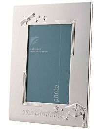 Crown Forever Frazer And Haws Graduate Photo Frame - Silver