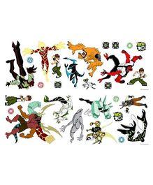 Ben 10 Wall Sticker Sheet - Multi Colour