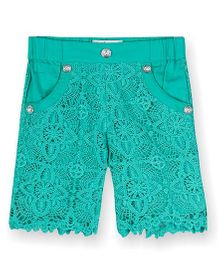 Young Birds Candy Shorts - Turquoise