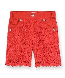 Young Birds Candy Shorts - Red