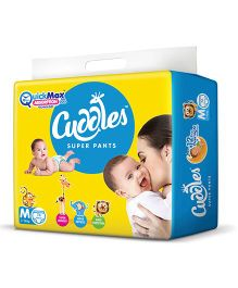 Cuddles Pant Style Diapers Medium - 74 Pieces