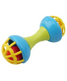 Emob Hand Bell Rattle - Green Yellow