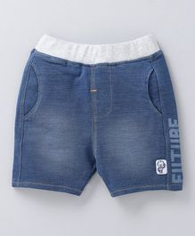 Babyoye Denim Jamaican Shorts Mid Wash - Blue