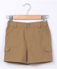Beebay Cargo Shorts - Brown