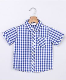 Beebay Gingham Shirt - Blue