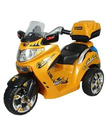 HLX-NMC Dragon Buggy Battery Operated Bike Ride On - Yellow