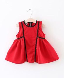2 Footya Pipin Dress - Red