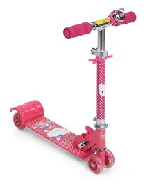 Hello Kitty Mini Scooter With 4 Wheels - Pink