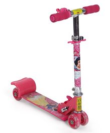 Disney Snow White Mini Scooter With 4 Wheels - Pink