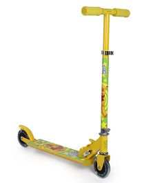 Disney Winnie The Pooh Fun 2 Wheel Scooter -  Yellow