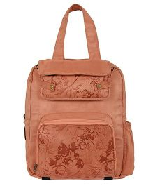 Lost & Found Mommy Special Diaper Cum Travel Bag - Peach