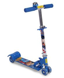 Disney Mickey Mouse 4 Wheel Scooter - Blue