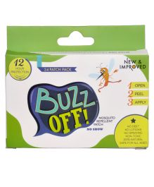 Buzz Off Mosquito Repellent Patch Pack Of 24 - Green