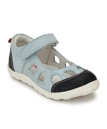 Tuskey Velcro Strap Casual Shoes - Blue