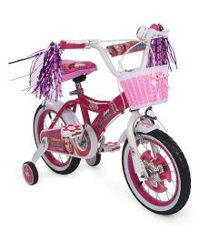 Barbie Bicycle With Basket Pink - 14 inches