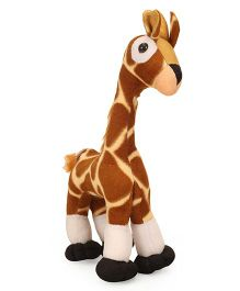 IR Giraffe Soft Toy Brown - Height 30 cm