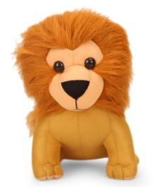 IR Lion Soft Toy Brown - Height 19 cm