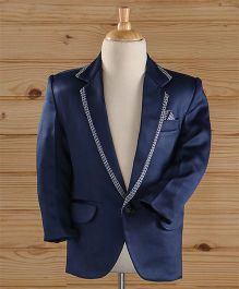 Jeet Ethnics Part Wear Blazer - Blue