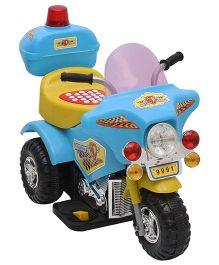 Fab N Funky Battery Operated Kids Bike Moto Cnopt - Sky Blue