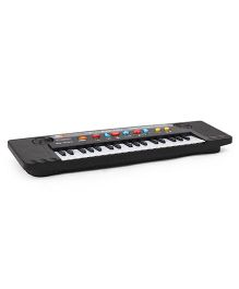 Dr. Toy Big Electric Piano With Mic - Black