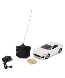Dr. Toy Chargeable RC Car - White