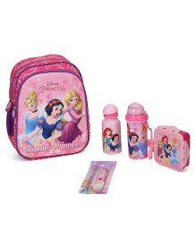 Disney Princess School Kit Pack Of 5 - Pink