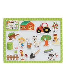 Vibgyor Vibes 3 in 1 Magnetic Learning & Writing Board (Assorted Colours And Designs)