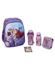 Disney Sofia The First School Kit Pack Of 5 - Blue