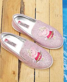 Peppa Pig By D'chica Slip On Party Loafers - Pink