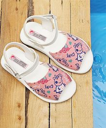 Peppa Pig By D'chica Casual Print Sandals - Pink