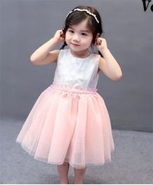 Pre Order - Tickles 4 U Star Embroidery Dress - Pink