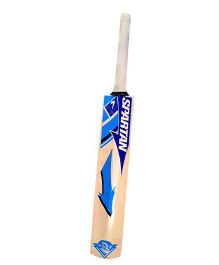 Spartan Poplar Willow Cricket Bat - Blue Light Brown
