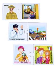 Creative – Our Helpers 24 Set Of 2 Piece Puzzles