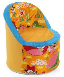Luvely Kids Sofa Chair Angry Birds Design - Yellow & Blue