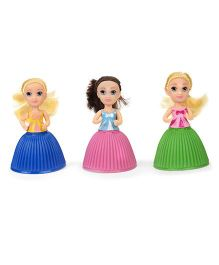 Cupcake Surprise Mini Dolls Pack Of 3 - Blue Pink Green