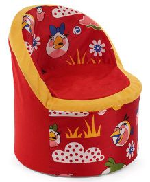 Luvely Angry Birds Sofa Chair - Red