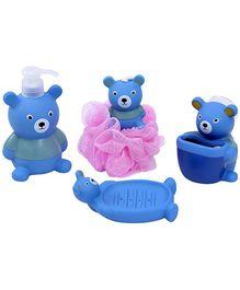 Fab N Funky - Bear Shape Bathroom Set