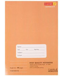 Camlin Single Line Notebook Brown - 172 Pages