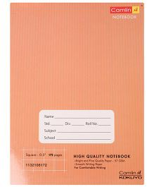 Camlin - 172 Pages Square 0.5 Inches Notebook, Brown