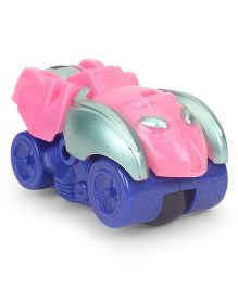 Playmate Friction Toy Car - Silver Pink