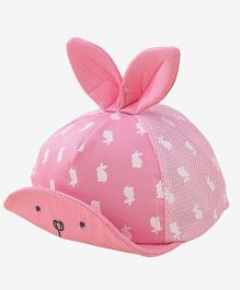 Little Hip Boutique Cute Bunny Eyes Cap - Pink