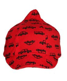 Little Hip Boutique Baseball Cap - Red & Black
