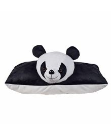 Ultra Folding Panda Cushion - Black & White